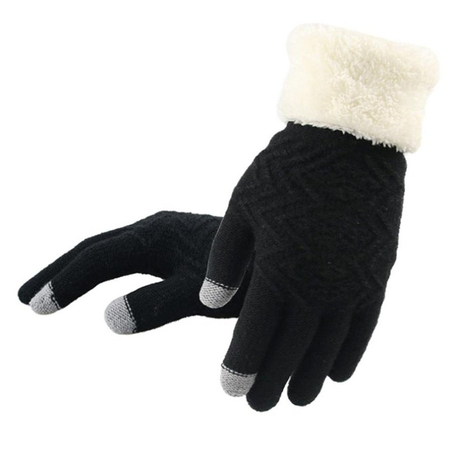 Winter Touch Screen Knitted Gloves