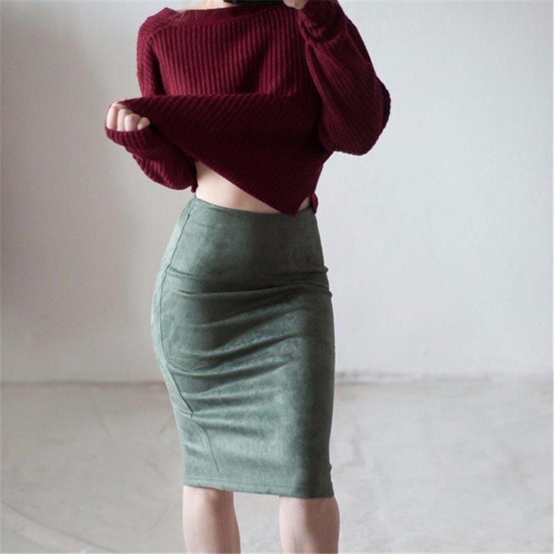 Pencil Skirt F-1309